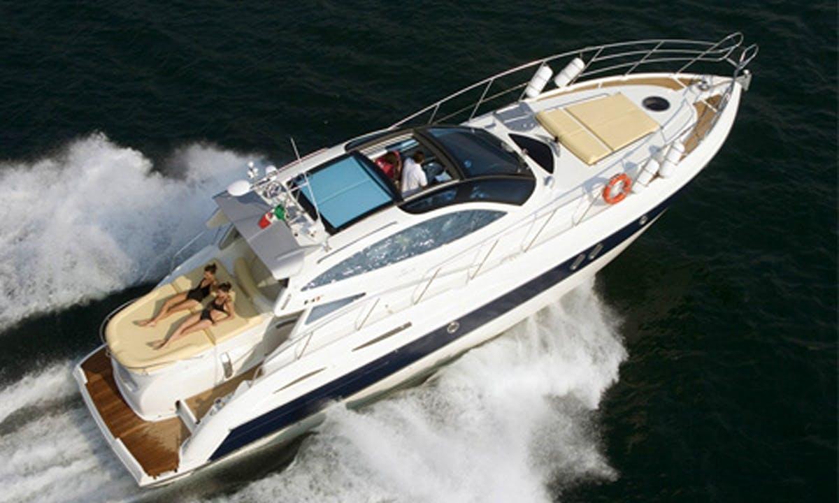 "Motor Yacht  "" Elite ""  47 ft rental in Positano"