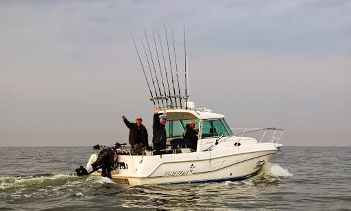 Raymarine Powerboat for Rent in Klaipėda, Lithuania
