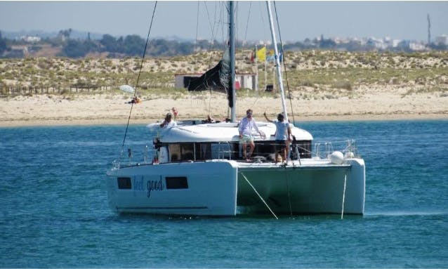 Lagoon 40 Sailing Catamaran Charter in Olhão,  Portugal