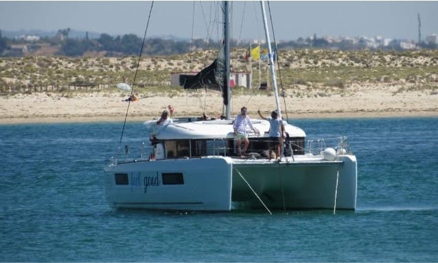 Lagoon 40 Sailing Catamaran Charter in Olhão,  Portugal