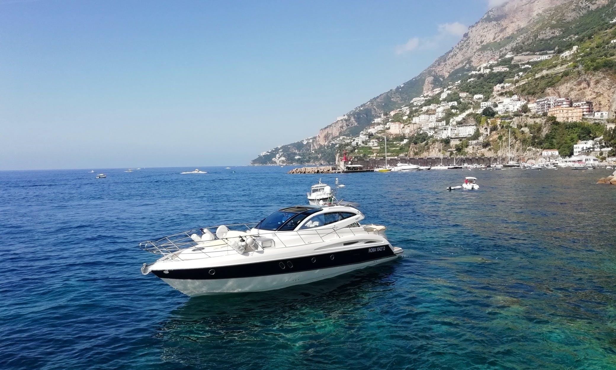 "Motor Yacht "" Elite "" 47 ft rental in Maiori"