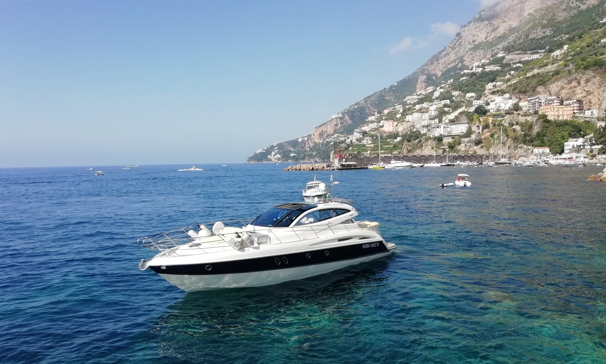 "2008 ""Elite"" Motor Yacht Rental In Maiori, Italy"