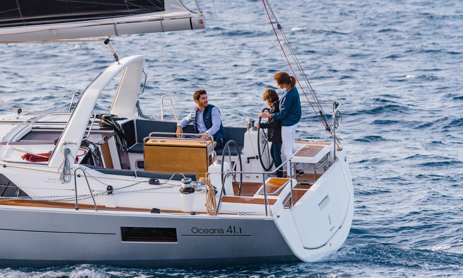 Charter a Beneteau Oceanis 41.1 Sailboat in Oakland, California
