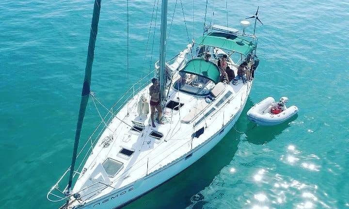 Jeanneau 47 Charter for 13 Guests in Rio, Angra or Paraty