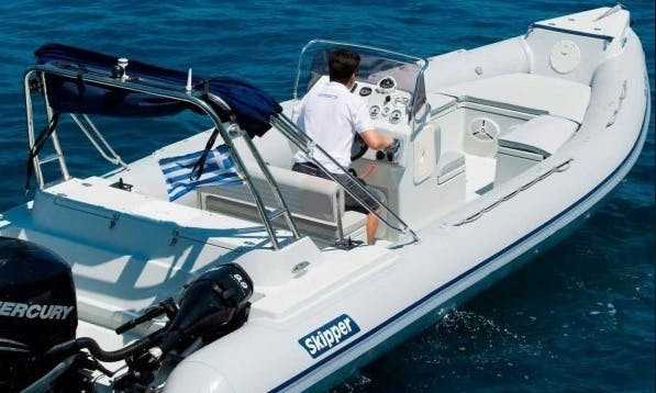 26' Skipper Inflatable Boat in Paros, Greece