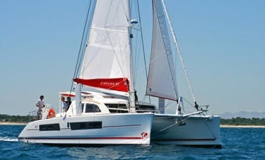 Reserve The Catana 42 Ci Cruising Catamaran In Raiatea, Tahiti