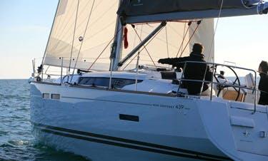 Sun Odyssey 439 Cruising Monohull Rental In Raiatea, Tahiti