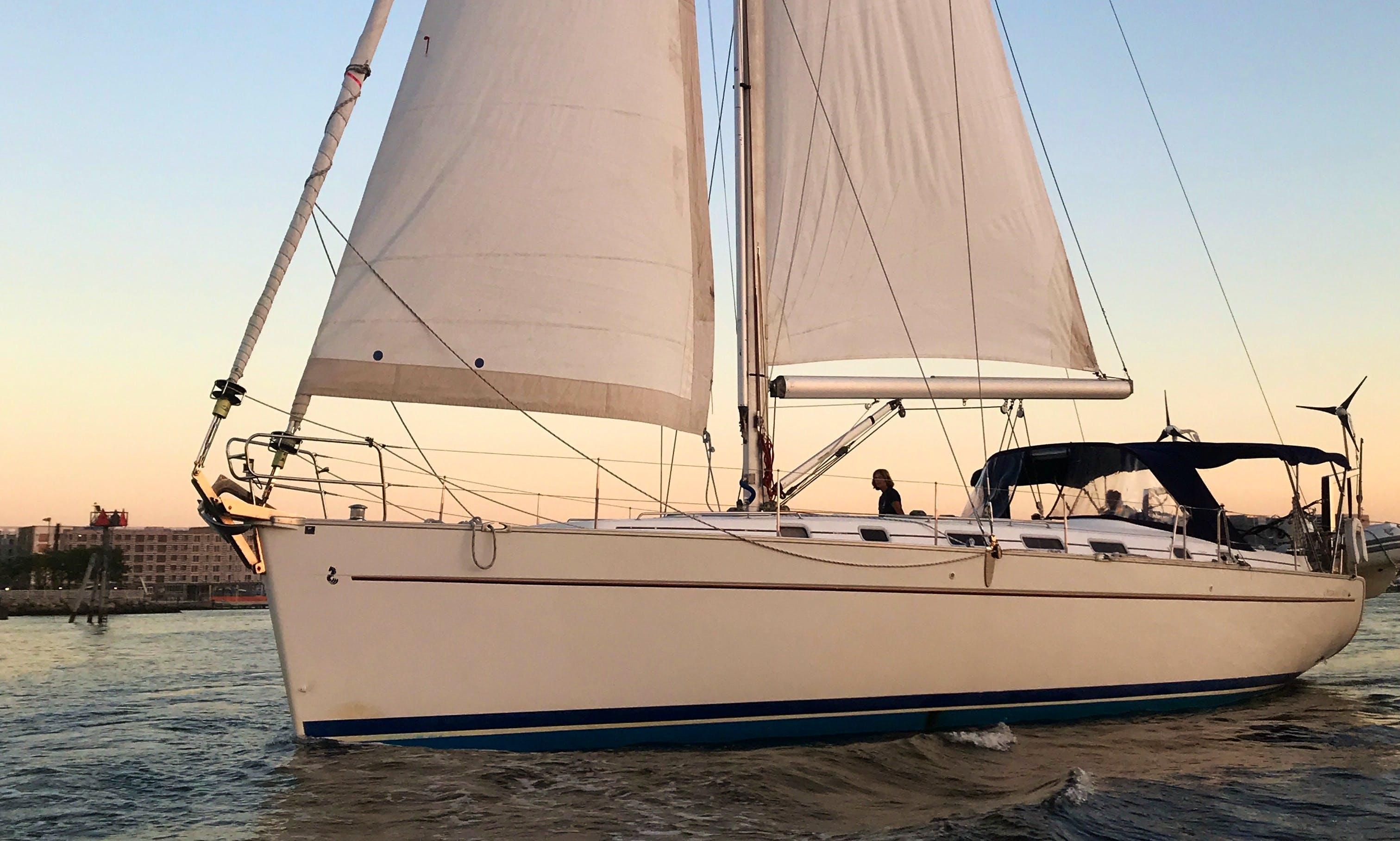 50' Beneteau Sailing Yacht (capacity 12)