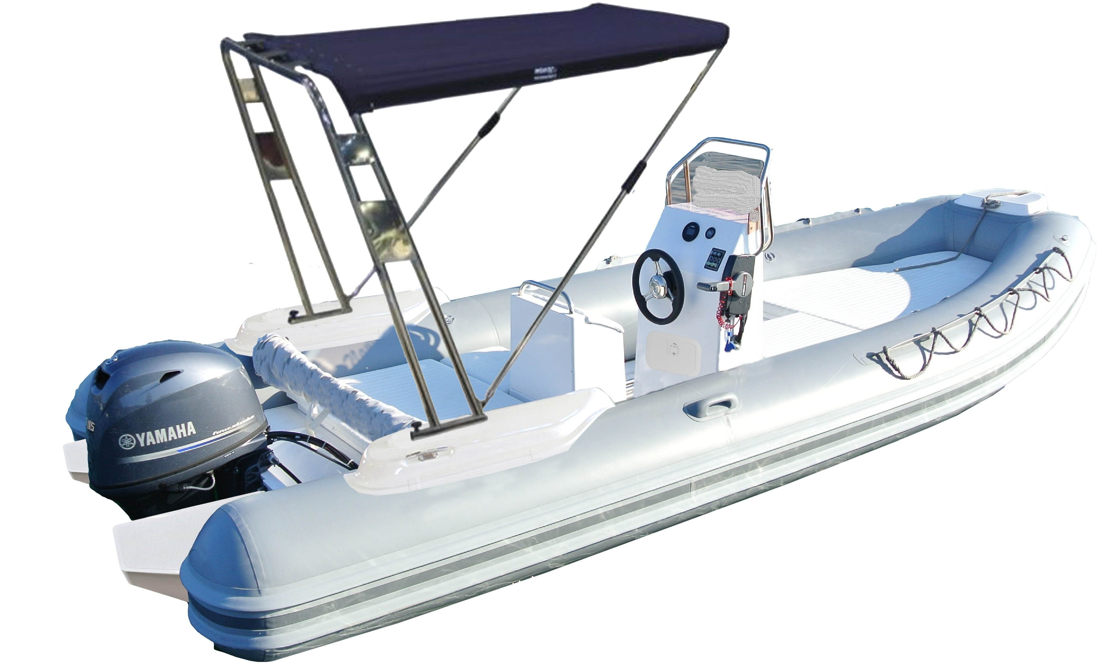 Hire this Expo King inflatable boat in Cannigione
