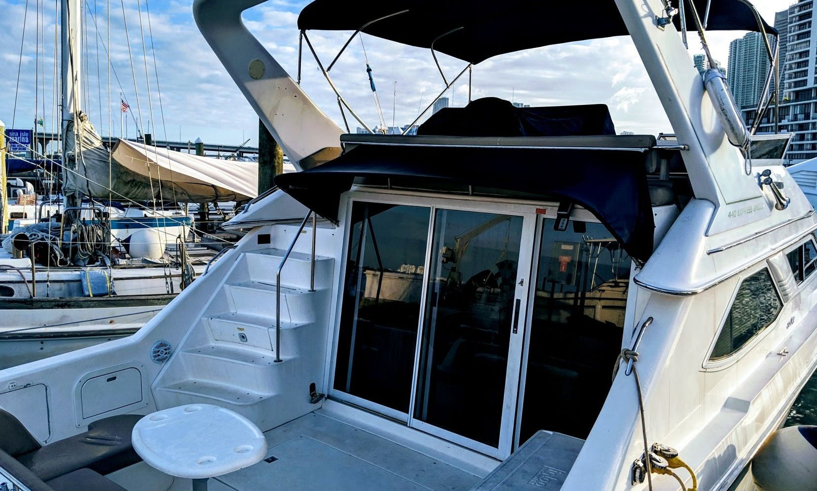 44 Foot Luxury Yacht for rent in beautiful Miami