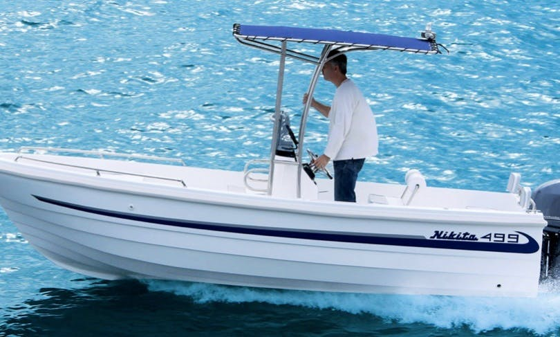 Nikita 499 Inflatable Boat for 5 People Available in Pounta, Greece