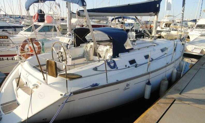 Charter a Dufour 36 Classic Sailboat in Barcelona, Spain