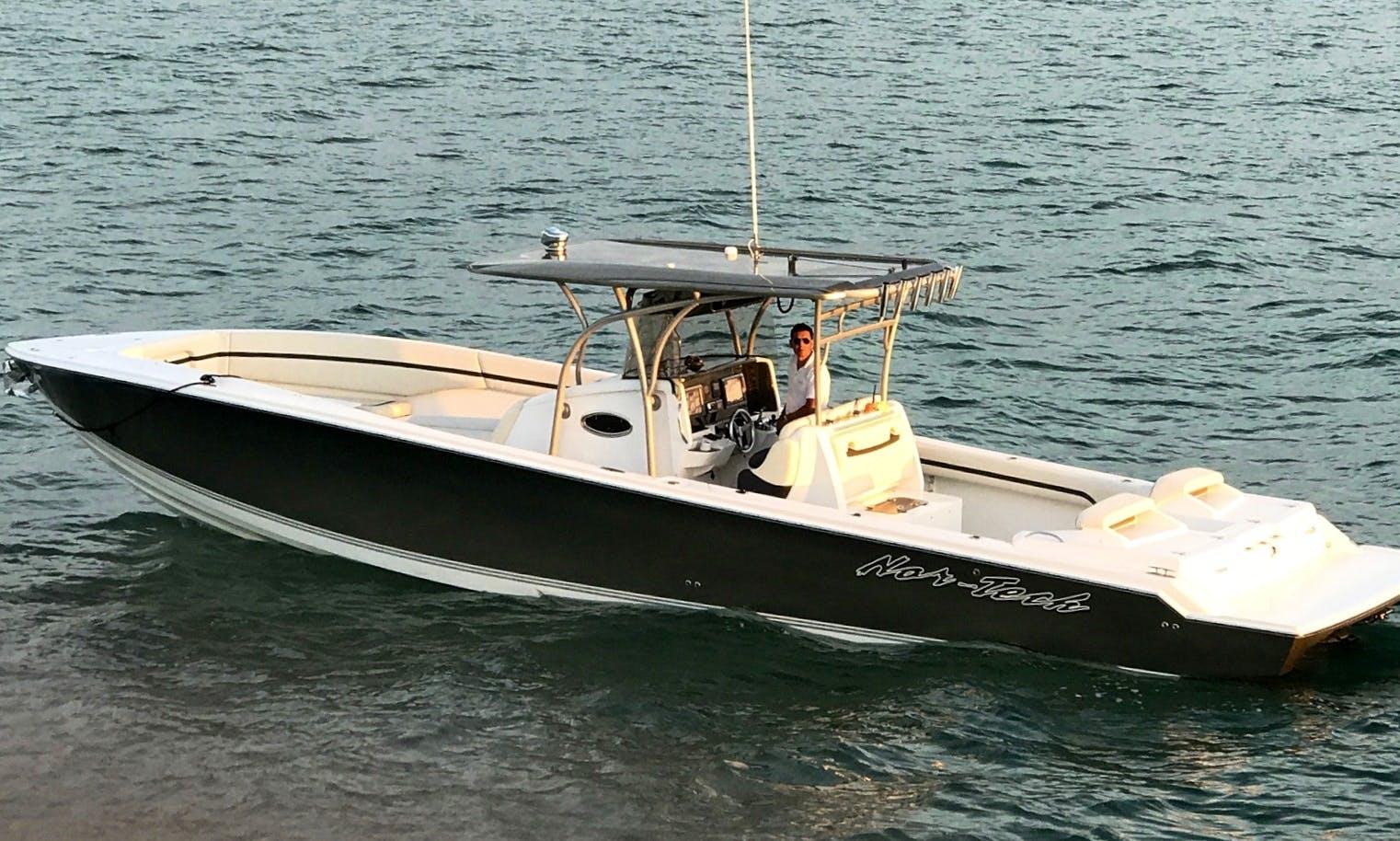 Luxury Yacht tender in Nassau