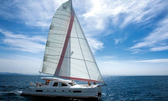 Charter The Catana 50 Oc Cruising Catamaran In Raiatea, Tahiti