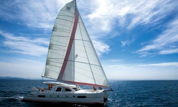Charter The Catana 50 Oc Cruising Catamaran In Raiatea, Tahiti