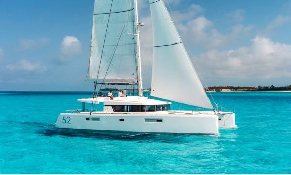 Book A Lagoon 52 F Cruising Catamaran In Raiatea, Tahiti