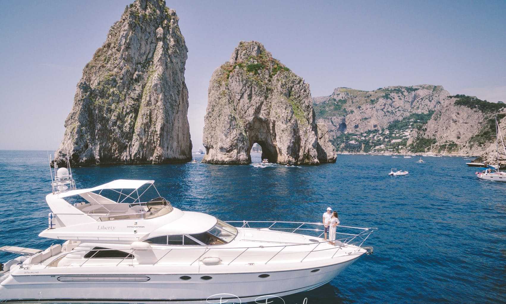 Fairline Squadron 60 Power Mega Yact in Sorrento, Italy