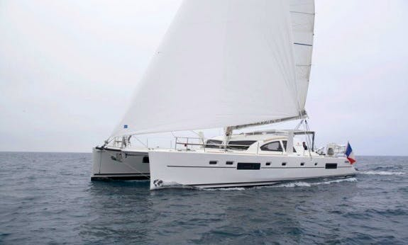 Reserve The Catana 55 Ci Sailing Catamaran In Raiatea, Tahiti