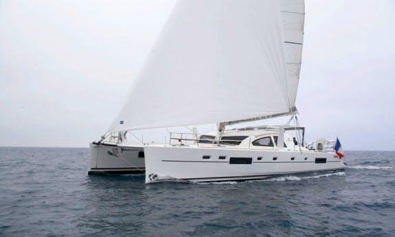 Reserve The Catana 55 Ci Sailing Catamaran In Raiatea, Tahiti
