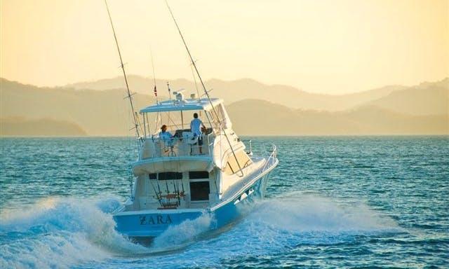 Sport Fisherman Charter at Marina Papagayo, Costa Rica