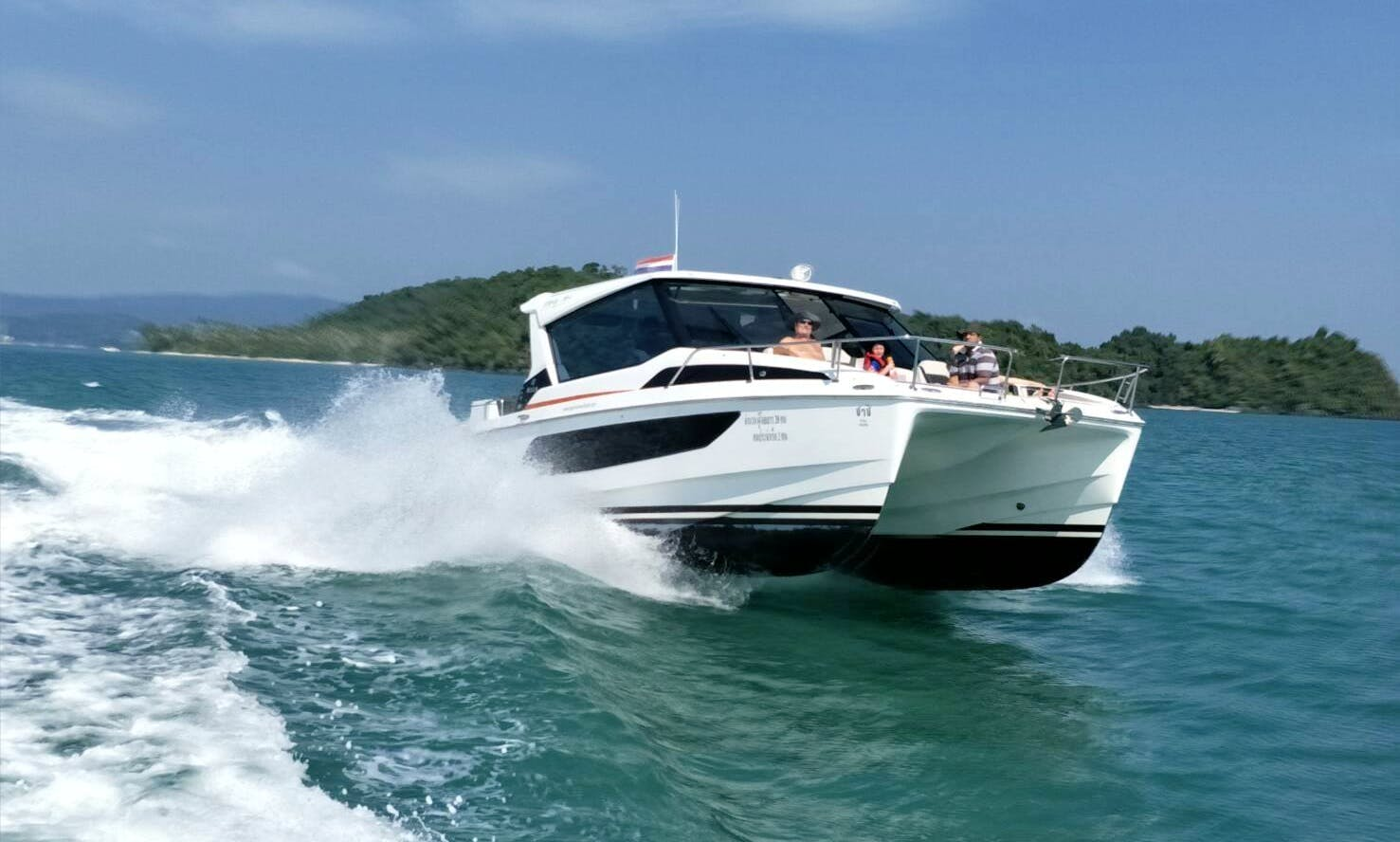 Aquila 36 -Power Catamaran rental in Phuket