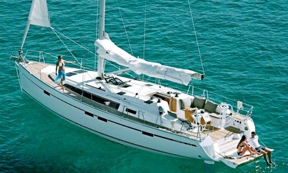 46' Bavaria Cruiser Sailing Yacht Rental In Baie Sainte Anne, Seychelles for 8 Person!