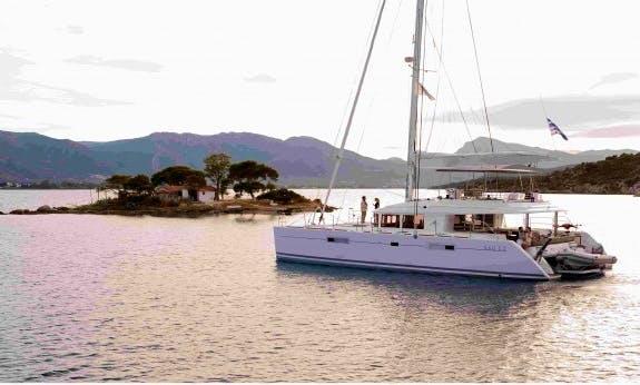 Reserve The Lagoon 560 F Cruising Catamaran In Baie Sainte Anne, Seychelles