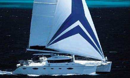 Reserve The 60' Eleuthera Cruising Catamaran In Baie Sainte Anne, Seychelles