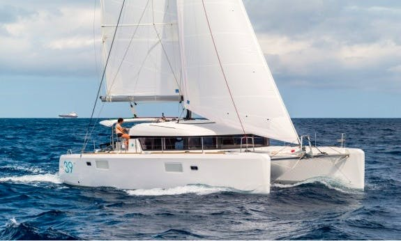 39' Lagoon Sailing Catamaran Rental in Palma de Mallorca, Spain