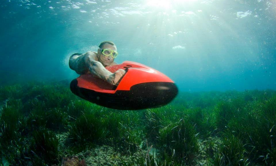 Go Explore Underwater World With Seabob F5 In Sibenik, Croatia