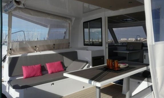 Amazing 2019 Nautitech 40 Cruising Catamaran Rental In Palma, Spain