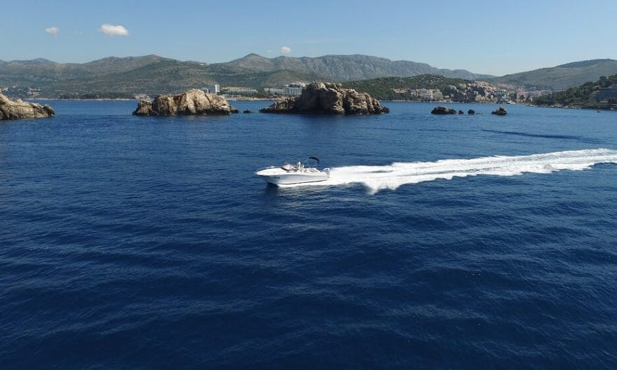 Tour the Elaphiti Islands with  Atlantic Sun Cruiser 730 Boat in Dubrovnik