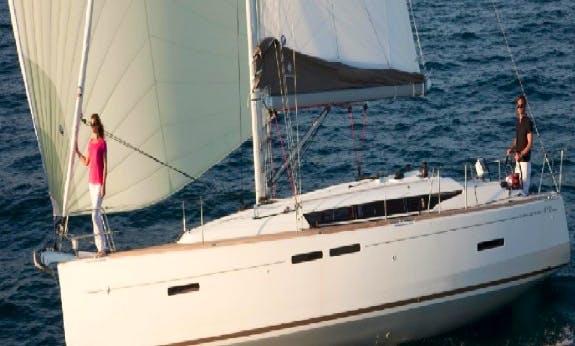 Charter The 2019 Sun Odyssey 419 Cruising Monohull in Palma, Spain