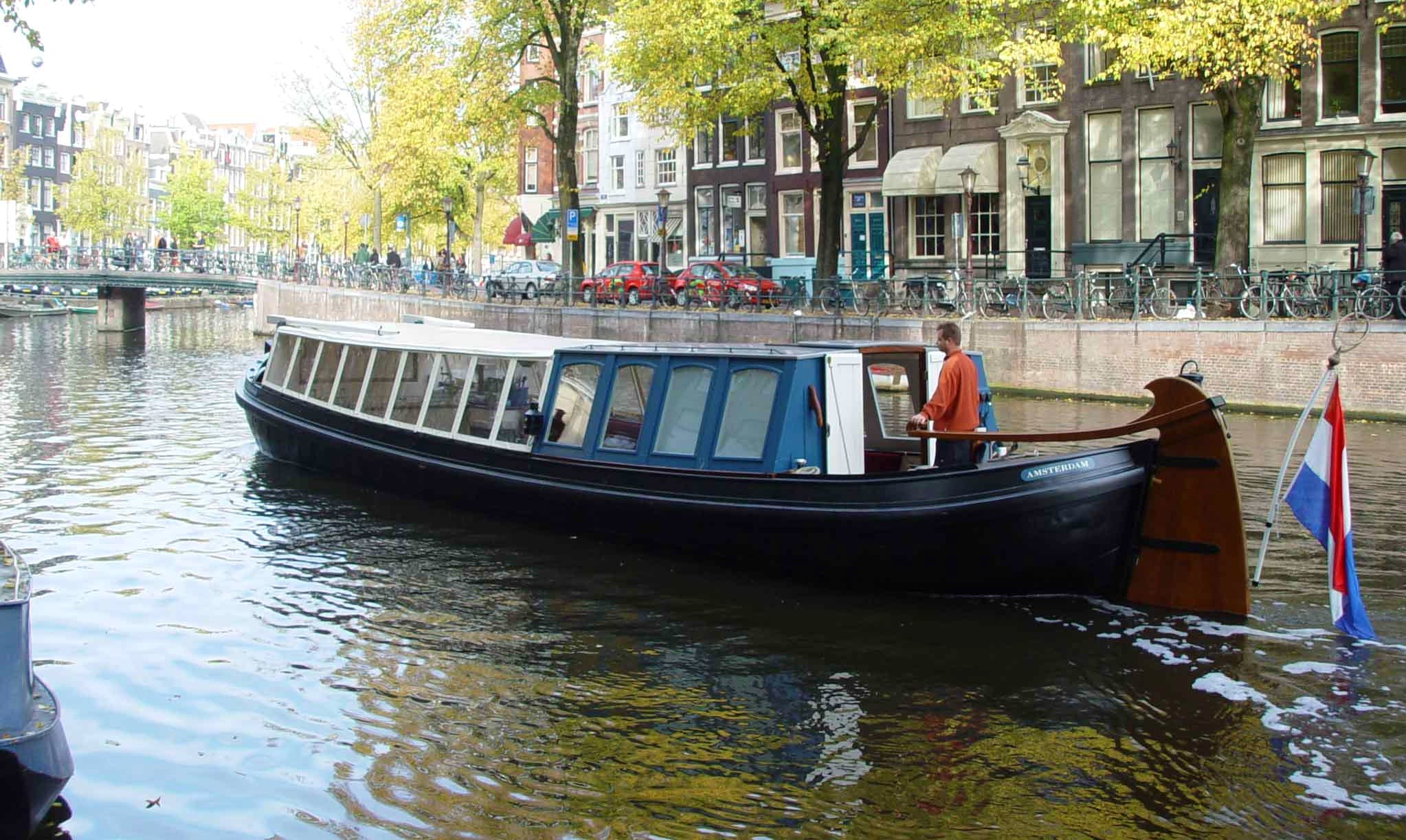 Book an Eco-Friendly and Cozy Canal Boat for 40 People in Amsterdam