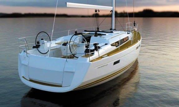 Wonderful Sun Odyssey 469 Cruising Monohull Rental in Palma, Spain