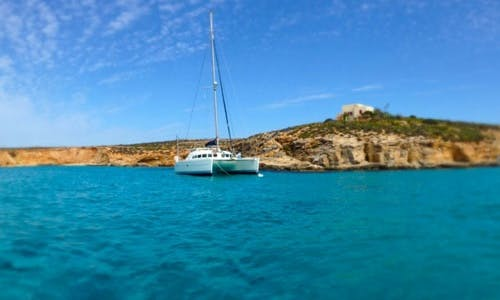 Lagoon 410 Cruising Catamaran Charter for Up to 14 People in St. Paul's Bay, Malta