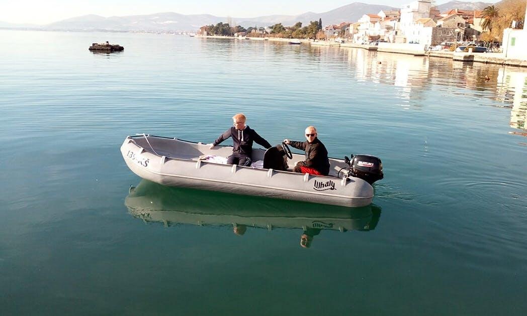 Whaly 435 Inflatable Boat in Kaštel Gomilica, Croatia