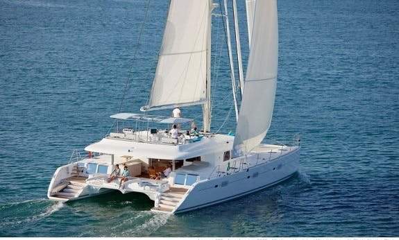Crewed Lagoon 620 Cruising Catamaran Rental in Palma, Spain