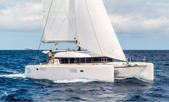 Book The 2016 Lagoon 39 Cruising Catamaran In Corsica, France For 12 Person!