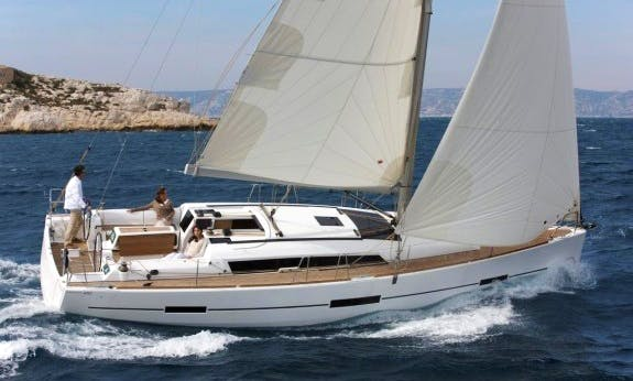 Reserve The 2017 Dufour 412 Gl Cruising Monohull In Corsica, France