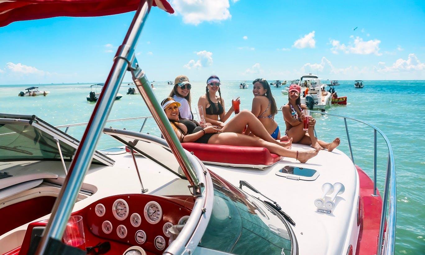 Luxury Sport Yacht! B-days, Bachelorette, Sandbar