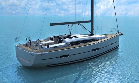 Reserve The  2017 Dufour 412 Adventure Sailing Yacht In Corsica, France