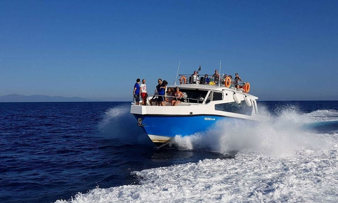 Private Boat Trip for 30 People in Kavos