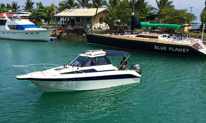 Skippered Speed Boat Charter