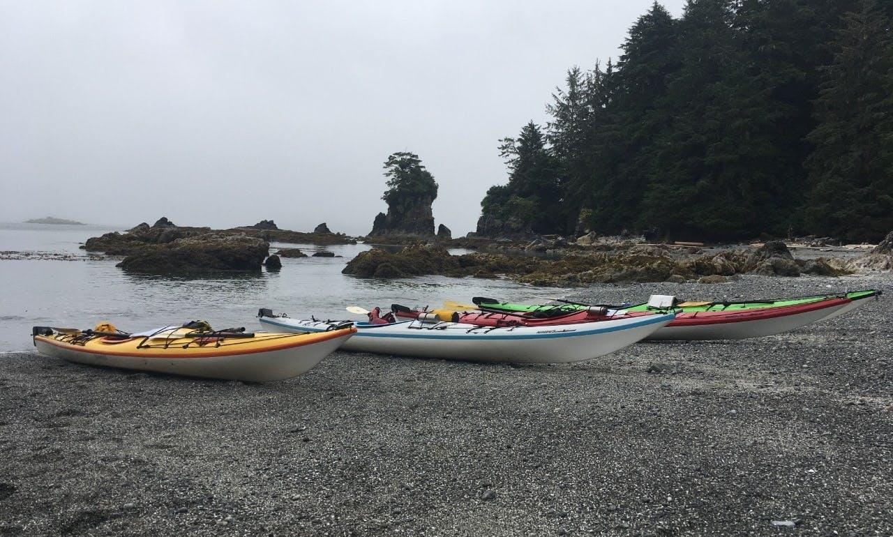 4.5 hours Broken Group Islands Kayak Tour