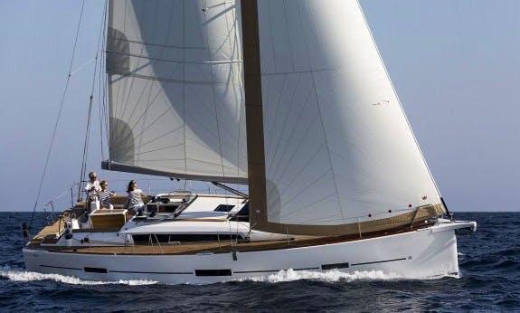 2019 Dufour 460 Gl Cruising Monohull Charter In Corsica, France