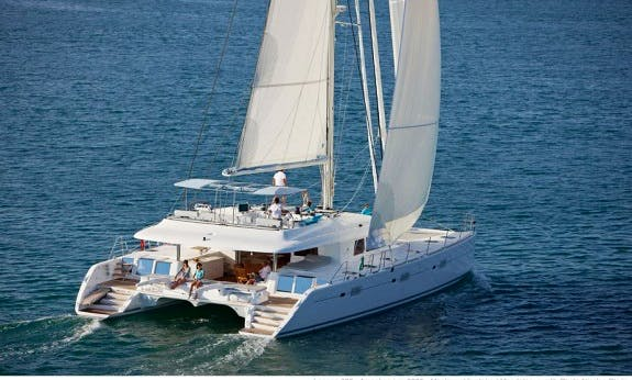 2019 Crewed  Lagoon 620 Cruising Catamaran Rental in Corsica, France