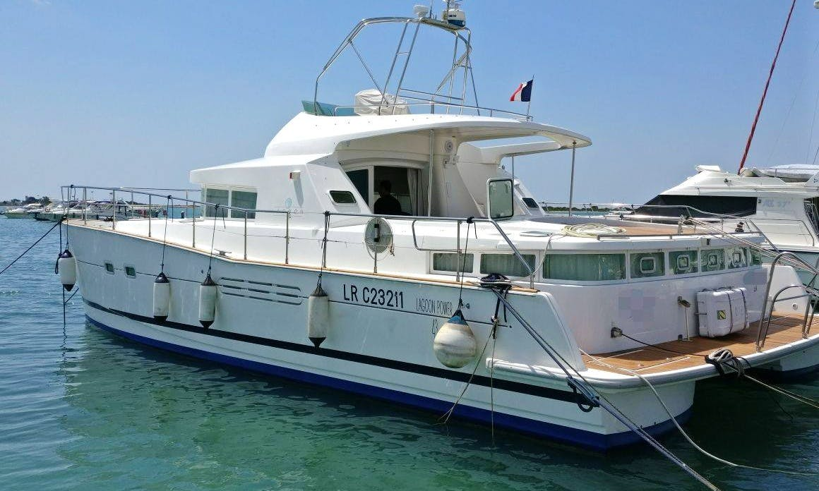 Fly Lagoon 43 Power Catamaran in Porto Cesareo
