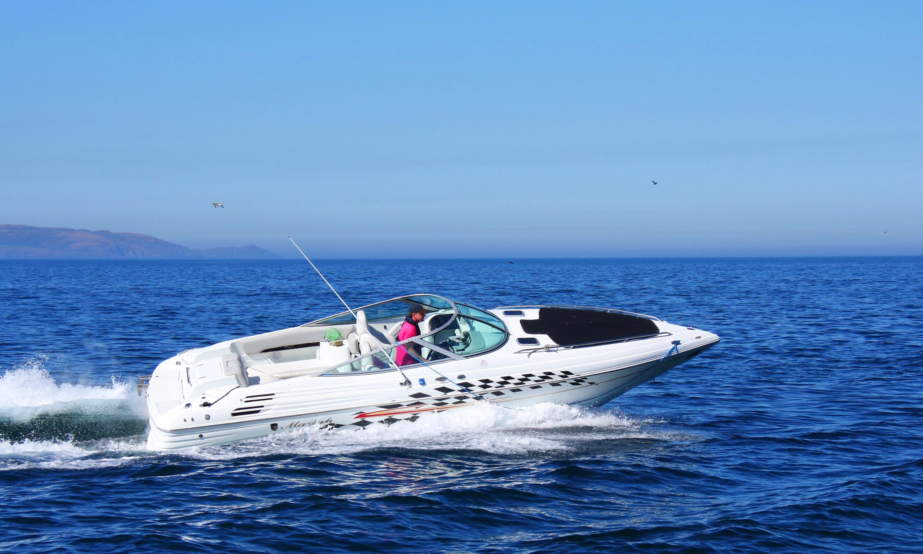 Power boat rental in Malahide, Ireland