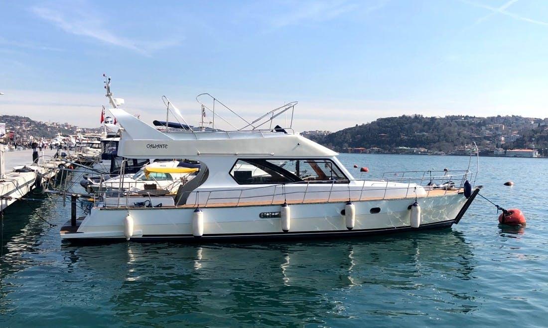 20 person Motor Yacht rental in İstanbul, Turkey